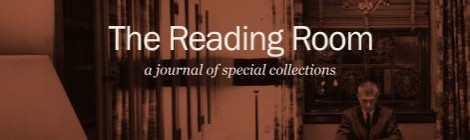 The Reading Room: a journal of special collections (volume 1, issue 2)