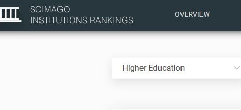Nova versió del Scimago Institutions Ranking (2017)