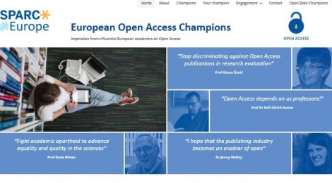 SPARC Europe OA champions